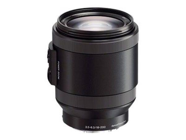 Sony SELP18200 - zoom lens - 18 mm - 200 mmSony SELP18200 - zoom lens - 18 mm - 200 mm, , hi-res