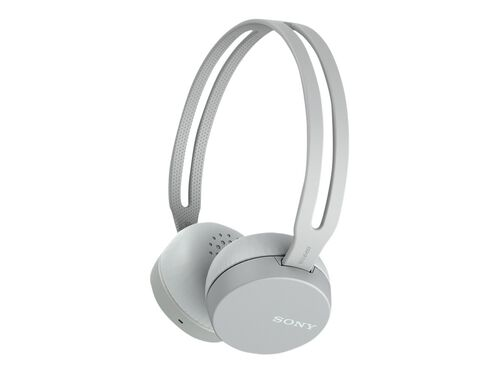 Sony WH-CH400 - headphones with mic, Gray, hi-res