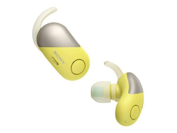 Sony WF-SP700N - earphones with micSony WF-SP700N - earphones with mic, Yellow, hi-res