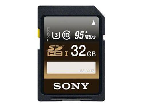 Sony SF-32UZ - flash memory card - 32 GB - SDHC UHS-I, , hi-res