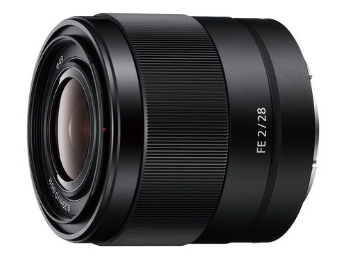 Sony SEL28F20 - wide-angle lens - 28 mm, , hi-res