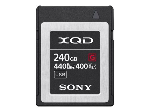 Sony G-Series QD-G240F - flash memory card - 240 GB - XQD, , hi-res