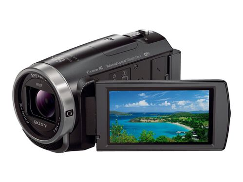 Sony Handycam HDR-CX675 - camcorder - storage: flash card, , hi-res
