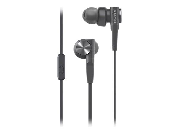 Sony MDR-XB55AP - earphones with micSony MDR-XB55AP - earphones with mic, Black, hi-res
