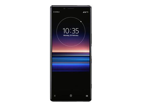 Sony XPERIA 1 - black - 4G - 128 GB - GSM - smartphone, , hi-res