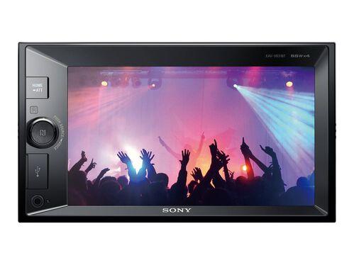 Sony XAV-V631BT - digital receiver - display 6.2 in - in-dash unit - Double-DIN, , hi-res