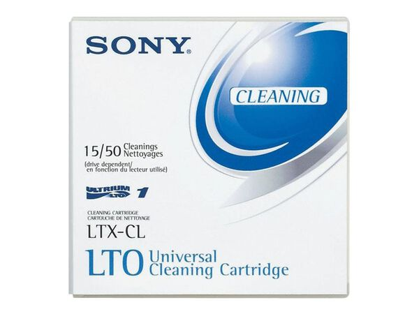 Sony LTX-CL - LTO Ultrium x 1 - cleaning cartridgeSony LTX-CL - LTO Ultrium x 1 - cleaning cartridge, , hi-res