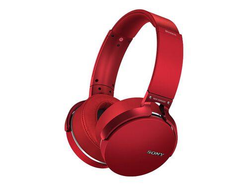 Sony MDR-XB950B1 - headphones, Red, hi-res
