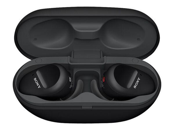Sony WF-SP800N - true wireless earphones with micSony WF-SP800N - true wireless earphones with mic, Black, hi-res