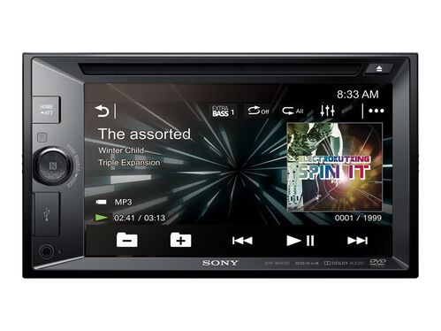 Sony XAV-XAV-W651BT - DVD receiver - display 6.2 in - in-dash unit - Double-DIN, , hi-res