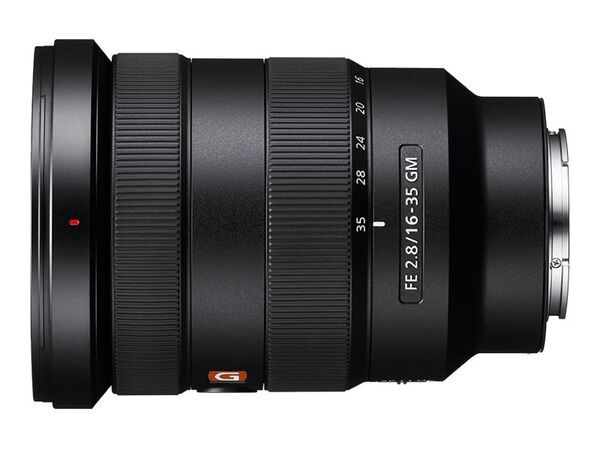 Sony G Master SEL1635GM - wide-angle zoom lens - 16 mm - 35 mmSony G Master SEL1635GM - wide-angle zoom lens - 16 mm - 35 mm, , hi-res