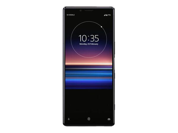Sony XPERIA 1 - black - 4G - 128 GB - GSM - smartphoneSony XPERIA 1 - black - 4G - 128 GB - GSM - smartphone, , hi-res