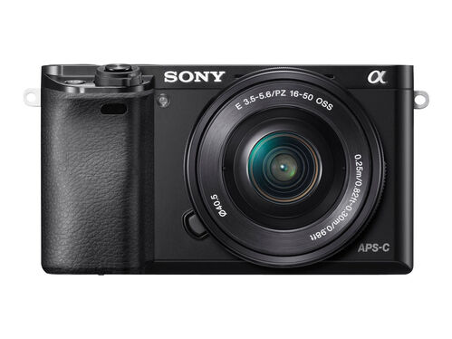 Sony α6000 ILCE-6000L - digital camera 16-50mm lens, Black, hi-res