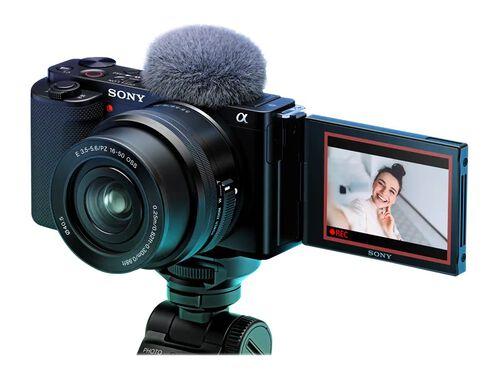 Sony α ZV-E10L - digital camera 16-50mm Power Zoom lens, Black, hi-res