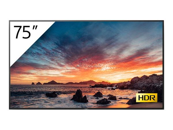 """Sony FWD-75X800H BRAVIA Professional Displays - 75"""" Class (74.5"""" viewable) LED-backlit LCD display - 4KSony FWD-75X800H BRAVIA Professional Displays - 75"""" Class (74.5"""" viewable) LED-backlit LCD display - 4K, , hi-res"""