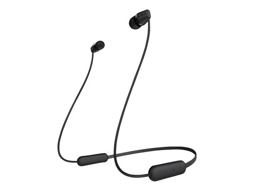 Sony WI-C200 - earphones with mic, Black, hi-res