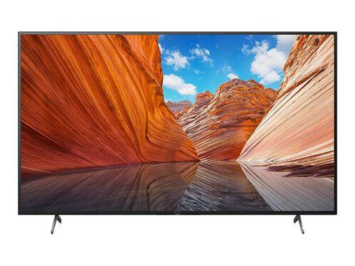 "Sony KD-75X80J BRAVIA X80J Series - 75"" Class (74.5"" viewable) LED-backlit LCD TV - 4K, , hi-res"