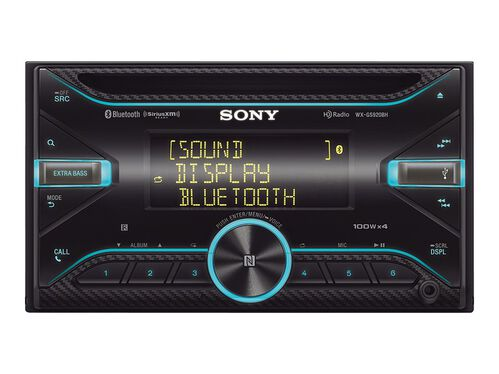 Sony WX-GS920BH - car - CD receiver - in-dash unit - Double-DIN, , hi-res