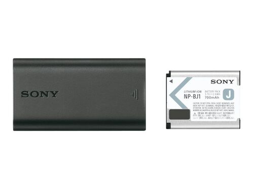 Sony ACC-TRDCJ - battery charger - + AC power adapter - + battery - Li-Ion, , hi-res
