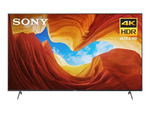 "Sony XBR-75X900H BRAVIA XBR X900H Series - 75"" Class (74.5"" viewable) LED TV - 4K, , hi-res"