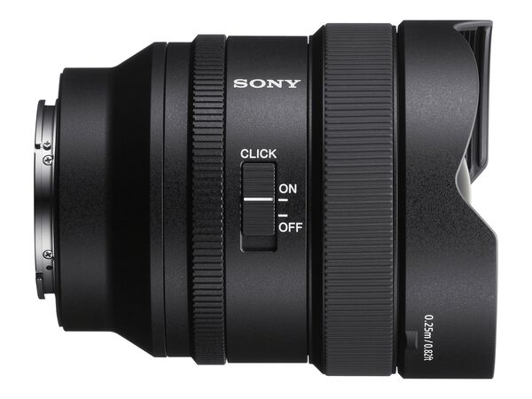 Sony G Master SEL14F18GM - wide-angle lens - 14 mmSony G Master SEL14F18GM - wide-angle lens - 14 mm, , hi-res