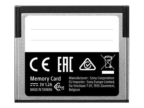 Sony G-Series CAT-G64 - flash memory card - 64 GB - CFast 2.0, , hi-res
