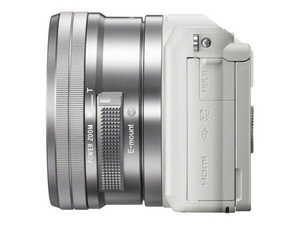 Sony α5100 ILCE-5100L - digital camera 16-50mm lensSony α5100 ILCE-5100L - digital camera 16-50mm lens, White, hi-res