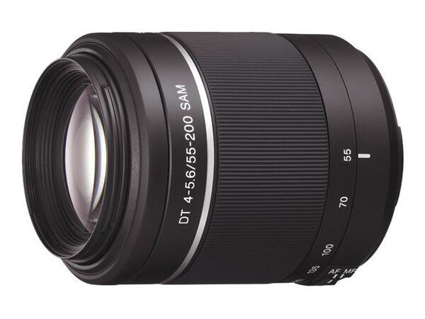 Sony SAL552002 - telephoto zoom lens - 55 mm - 200 mmSony SAL552002 - telephoto zoom lens - 55 mm - 200 mm, , hi-res
