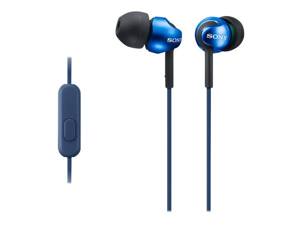 Sony MDR-EX110AP/B - earphones with micSony MDR-EX110AP/B - earphones with mic, Blue, hi-res
