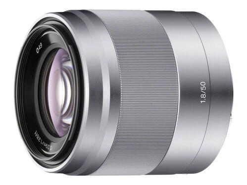Sony SEL50F18 - lens - 50 mm, , hi-res