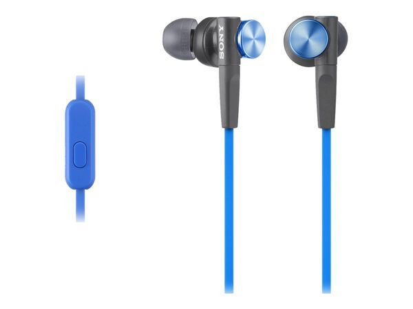 Sony MDR-XB50AP - earphones with micSony MDR-XB50AP - earphones with mic, Blue, hi-res