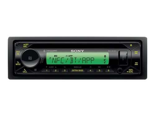 Sony MEX-M72BT - marine - CD receiver - in-dash unit - Single-DIN, , hi-res