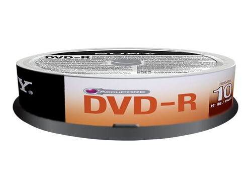 Sony DMR 47SP - DVD-R x 100 - 4.7 GB - storage media, , hi-res