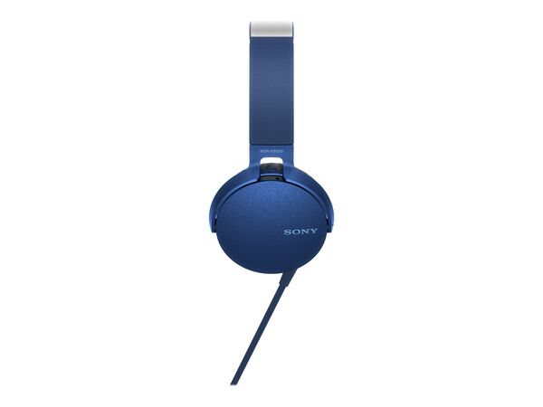 Sony MDR-XB550AP - headphones with micSony MDR-XB550AP - headphones with mic, Blue, hi-res