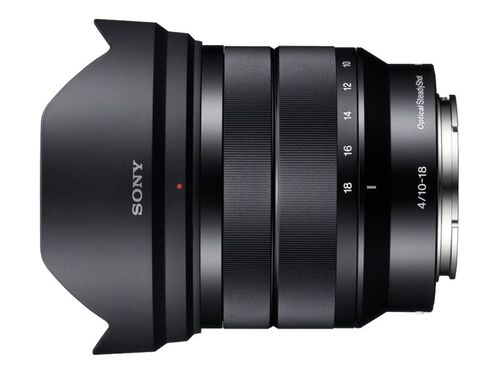 Sony SEL1018 - wide-angle zoom lens - 10 mm - 18 mm, , hi-res