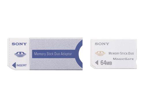 Sony Memory Stick Duo Adaptor MSAC-M2 - card adapter - Memory Stick, , hi-res