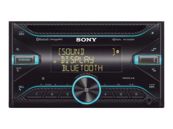 Sony WX-GS920BH - car - CD receiver - in-dash unit - Double-DINSony WX-GS920BH - car - CD receiver - in-dash unit - Double-DIN, , hi-res