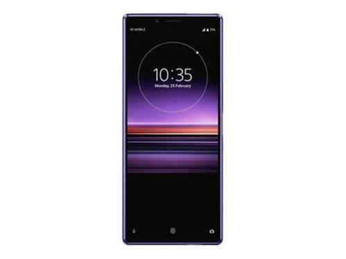Sony XPERIA 1 - purple - 4G - 128 GB - GSM - smartphone, , hi-res