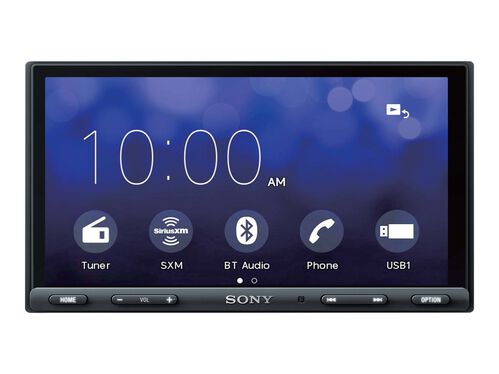 Sony XAV-AX5000 - digital receiver - display 6.95 in - in-dash unit - Double-DIN, , hi-res