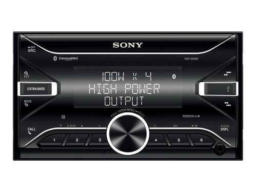 Sony DSX-GS900 - car - digital receiver - in-dash unit - Double-DIN, , hi-res