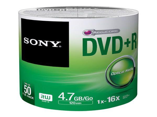 Sony 50DPR47SB - DVD-R x 50 - 4.7 GB - storage mediaSony 50DPR47SB - DVD-R x 50 - 4.7 GB - storage media, , hi-res