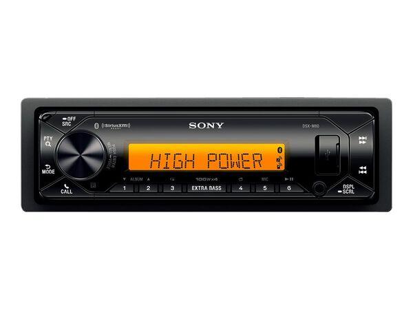 Sony DSX-M80 - marine - digital receiver - in-dash unit - Single-DINSony DSX-M80 - marine - digital receiver - in-dash unit - Single-DIN, , hi-res