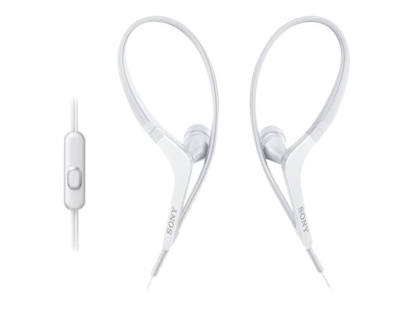 Sony MDR-AS410AP - earphones with micSony MDR-AS410AP - earphones with mic, White, hi-res