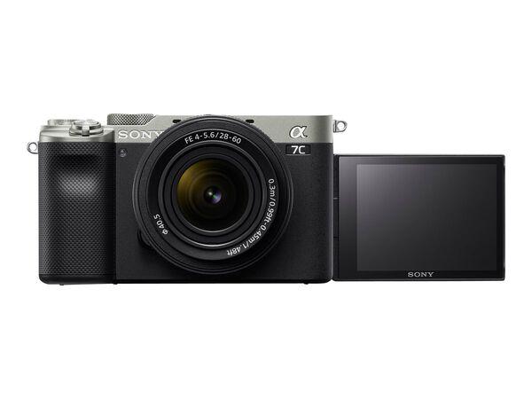 Sony α7C ILCE-7CL - digital camera 28-60mm lensSony α7C ILCE-7CL - digital camera 28-60mm lens, Silver, hi-res