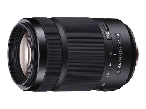 Sony SAL55300 - telephoto zoom lens - 55 mm - 300 mm, , hi-res