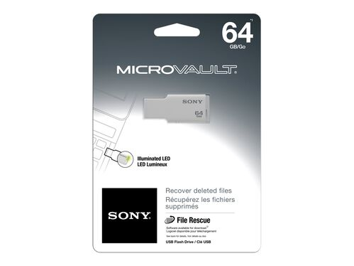 Sony Micro Vault USM-M Series - USB flash drive - 64 GB, , hi-res
