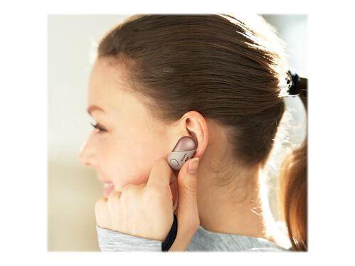 Sony WF-SP700N - earphones with mic, Pink, hi-res