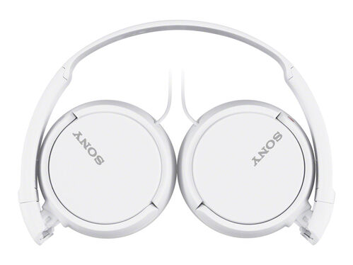 Sony MDR-ZX110AP - headphones with mic, White, hi-res