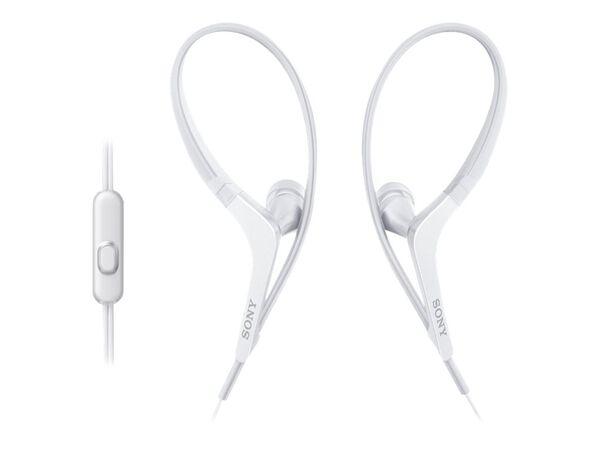 Sony MDR-AS410AP - earphones with micSony MDR-AS410AP - earphones with mic, White, hi-res