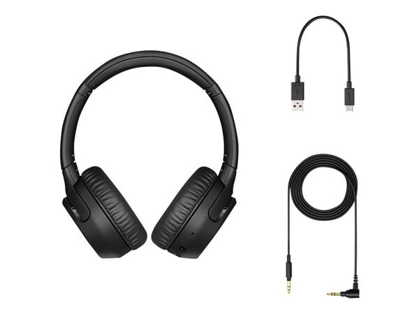 Sony WH-XB700 - headphones with micSony WH-XB700 - headphones with mic, Black, hi-res